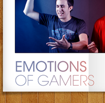 Emotions of gamers. A Design, and Photograph project by Alex Bailon         - 17.11.2011