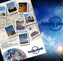 Cartel Lonely Planet. Um projeto de Publicidade e Fotografia de Juan Jose Marin Rodriguez         - 16.09.2013