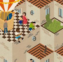 Fiestas Majadahonda. Un proyecto de Diseño e Ilustración de Andrés Lozano - 02-01-2012
