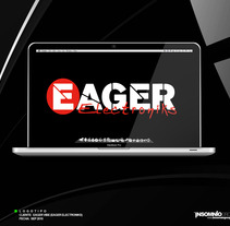 Logotipo: Eager Electroniks. A Design project by KikeNS         - 05.01.2012