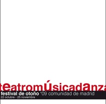 festival de otoño, catálogo sitting new. A Design project by Rodrigo Carrasco Merchán - Jan 08 2012 01:22 PM