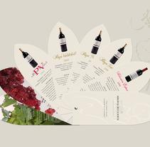 Gama de vinos. Un proyecto de Diseño de ana gonzalez sanchez - Jueves, 12 de enero de 2012 10:52:35 +0100