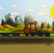 sol sobre margat. A Illustration, Motion Graphics, Film, Video, and TV project by Gustavo Wenzel         - 13.01.2012