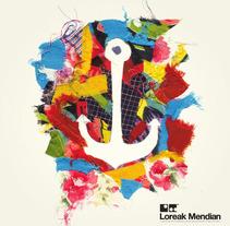 Loreak Mendian - Logos. Un proyecto de Diseño e Ilustración de mauro hernández álvarez - 16-01-2012