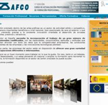 Afco-asimag formación. Un proyecto de Diseño y Desarrollo de software de Jose Lorenzo Espeso         - 17.01.2012