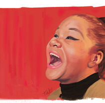 Etta James tribute. A Illustration project by Tono G. Dueñas         - 21.01.2012