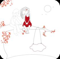 Ilustración editorial. Un proyecto de Ilustración de Mònica  Roca - 23-01-2012