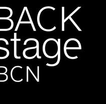 Backstage BCN. Un proyecto de Diseño y Publicidad de Laura Juez Caballero         - 04.02.2012