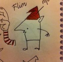 Flim el enano. Un proyecto de Ilustración de Manu Díez         - 19.02.2012