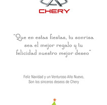 Chery - Mailings. A Design, and Advertising project by Diana Gomez Salas         - 22.02.2012