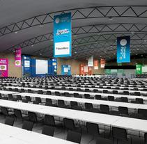 Escenografía Evento Colombia. Un proyecto de Diseño e Instalaciones de Yolanda Benedito         - 06.03.2012