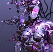 Dekonstruction_girl. A Design, Illustration, and 3D project by Javier Gamero Sánchez         - 15.03.2012