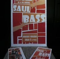 Muestra Saul Bass. Um projeto de Design e Publicidade de Micaela Salomón         - 20.03.2012