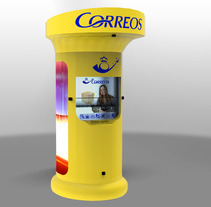 Buzón de Correos España 2062. A Design, Illustration, and 3D project by Daniel Hernández Martín - Mar 22 2012 12:54 AM