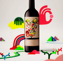 La vinya del 8. A Illustration, and Advertising project by Iván Bravo         - 22.03.2012