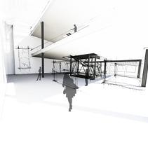 Ampliación de la fundación . Un proyecto de Diseño, Instalaciones y 3D de Andreu Cabot         - 23.03.2012