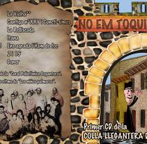 CARÁTULA CD COLLA GEGANTERA. Un proyecto de Diseño e Ilustración de miguel a. saavedra mateo         - 27.03.2012