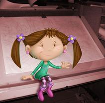 diseño de personaje. A Illustration, Film, Video, and TV project by yanina tiribelli         - 03.04.2012