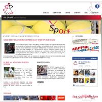 WEB DRUPAL BP SPORT. Um projeto de Design e Informática de Juan Mª Seijo         - 18.04.2012