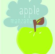 Manzana / Ilustración. A Illustration project by Pilar Santiño         - 20.04.2012