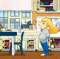 Pas le temps. Un proyecto de Ilustración de Oriol Vidal - Sábado, 21 de abril de 2012 17:51:20 +0200