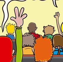 Portada Yorokobu. Un proyecto de Diseño e Ilustración de M.A. Serralvo - Viernes, 27 de abril de 2012 17:33:34 +0200