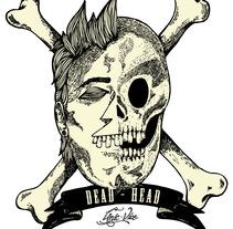 DEAD HEAD. Un proyecto de Diseño e Ilustración de Alejandro Escudero Hernández         - 15.05.2012