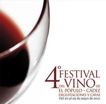 Festival del Vino de El Pópulo: Cartel 4ª edición. Um projeto de Design e Publicidade de Paco Mármol         - 05.06.2012