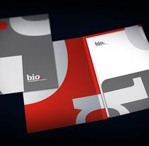 Identidad corporativa Bio. Un proyecto de Diseño e Ilustración de Pedro Luis Montero Somolinos - 18-06-2012