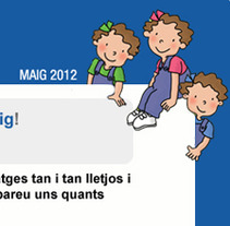 e-mailing La Revista de Les Tres Bessones. Um projeto de Design de Carme Carrillo Cubero         - 03.07.2012