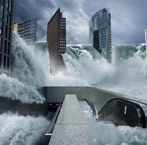 Fotomontaje Inundación. Un proyecto de Diseño de Rodrigo Dobñia         - 03.07.2012