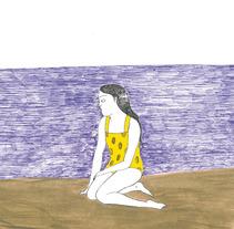 Alicia se cae al mar. Um projeto de Ilustração de Maite Caballero Arrieta         - 14.07.2012