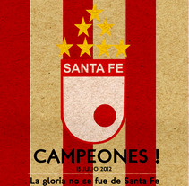 Santa Fe !. A Illustration, and Advertising project by Ivan Rivera - 17-07-2012