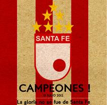 Santa Fe !. Un proyecto de Ilustración y Publicidad de Ivan Rivera - 17-07-2012