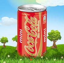 Ilustraciones Coca-Cola. Un proyecto de Diseño, Ilustración y Publicidad de Álvaro Infante - 29-07-2012