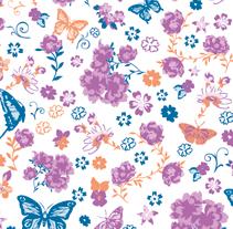 Textile design. Um projeto de Design e Ilustração de Antonio Ammendola         - 11.08.2012