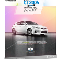 Lexus CT200h. A Advertising, and Software Development project by Javier Fernández Molina - 15-08-2012