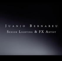 Reel 2012. Un proyecto de Diseño, Motion Graphics, Cine, vídeo, televisión, Desarrollo de software, 3D y Publicidad de Juanjo Bernabeu - Domingo, 02 de septiembre de 2012 20:48:25 +0200