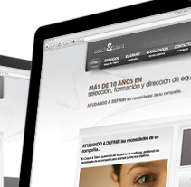 Web's Grupo Martinalia. Um projeto de Design, Ilustração, Publicidade, Motion Graphics e Fotografia de Luis Martínez Cequiel         - 03.09.2012