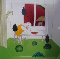 Taller con Elena Odriozola. A Illustration project by Nanen  - 05-09-2012