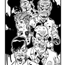 Zombis. Un proyecto de Ilustración de Sergio Covelo Moreira - 25-09-2012