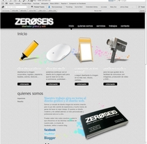 zeroseis. A Design, Software Development, UI / UX&IT project by Ovidio Rey Edreira - Sep 29 2012 11:27 AM