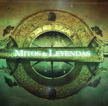 ¨Mitos y Leyendas¨(RTVE) Graphic Illustration and animation.. A Design, Illustration, Motion Graphics, Installations, Film, Video, and TV project by Gloria Peiró Pérez         - 01.10.2012