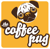 The Coffee Pug. A Illustration, Br, ing, Identit, and Graphic Design project by Marcos Camacho García - 03-10-2012