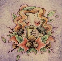 it's finally autumn!. A Design&Illustration project by Alizia Vence - 05-10-2012