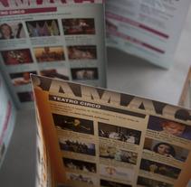 Folletos Agenda Cultural. Un proyecto de Diseño y Publicidad de Jose Blas Ruiz Hernandez - Lunes, 08 de octubre de 2012 12:01:41 +0200