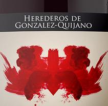 Packaging Bodegas Gonzalez-Quijano. Un proyecto de Diseño, Ilustración y Publicidad de Álvaro Antonio Redondo Margüello - 10-10-2012