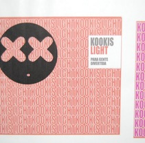 KOOKIS LIGHT. A Design, Illustration, Advertising, and Photograph project by Francisco Javier (djhavier)          - 11.10.2012
