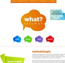 Academia What?. Un proyecto de Diseño, Desarrollo de software y UI / UX de Jaime Martínez Martín         - 17.10.2012
