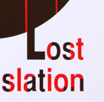 Lost in Translation. A Design project by Mar Domene         - 17.10.2012